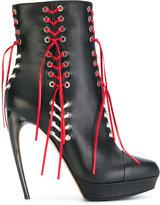 Alexander McQueen Horn Heel boots