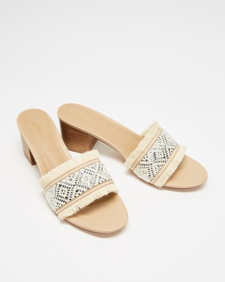Spurr Women's Brown Heeled Sandals - Rinka Heels - Size 11 at The Iconic
