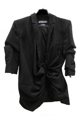 Jacquemus La Bomba Black Wool Jackets