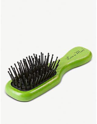 The Conran Shop Less is More beech wood mini hairbrush
