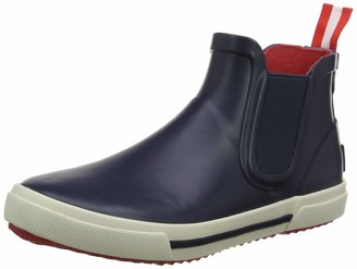 Joules Kids' Rainwell Short Slip On Rain Boot French Navy
