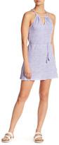 Letarte Front Keyhole Stripe Dress