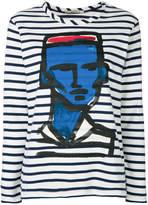 Odeeh striped jumper