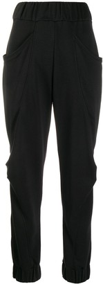 NO KA 'OI Ruched Detail Track Pants