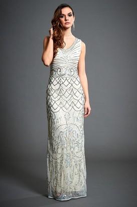 Jywal London Embellished Wedding Guest Dress