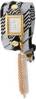 La Mer Collection's Women's LMTASSLE001D Removable Rainbow Tassel Charm Wrap Watch