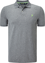 Polo Golf By Ralph Lauren Short Sleeve Pro-fit Polo Shirt, Classic Grey Heather