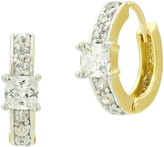 Freida Rothman Celestial Cubic Zirconia Huggie Hoop Earrings