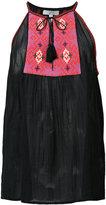 Joie tassel detail blouse - women - Cotton/Polyester - S