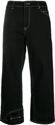 Monse Denim Wide Leg Culottes
