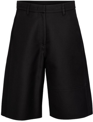 Valentino VGOLD cotton Bermuda shorts