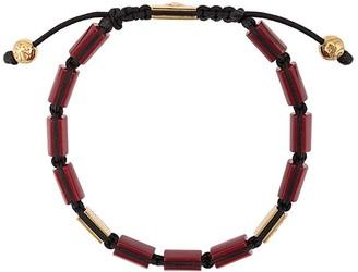 Nialaya Jewelry CZ flat bead bracelet