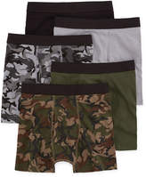 Arizona 4-pk. Boxer Briefs + Bonus Pair - Boys 2-20