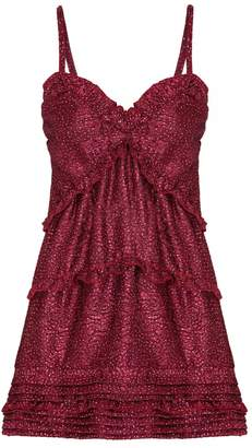 Elizabeth Sparkles Mini Strap Dress