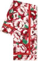 Draper James Amaryllis Floral Lightweight Scarf