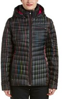 Spyder Timeless Hoodie Novelty Down Jacket.