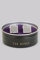 Ted Baker Blue Corner Crystal Cufflinks