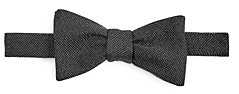 Paul Smith Glitter Silk Pre-Tied Bow Tie