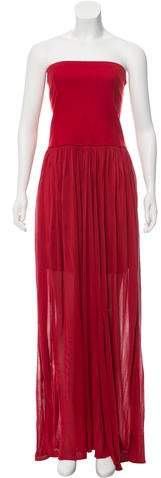 Derek Lam Strapless Maxi Dress w/ Tags