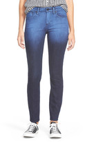 Articles of Society SoHo Gradient Wash Skinny Jean (Juniors)