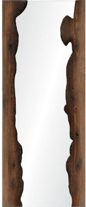 Ren Wil Connix Framed Fir Wood Mirror - Clear - Large