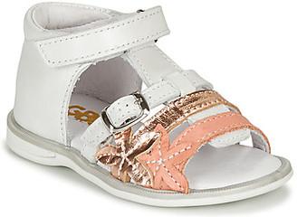 GBB APOLA girls's Sandals in White