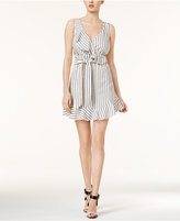 GUESS Gianna Striped Ruffled Dress