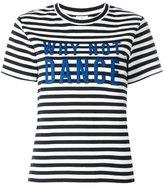 Paul Smith striped T-shirt - women - Cotton/Polyamide/Spandex/Elastane - L