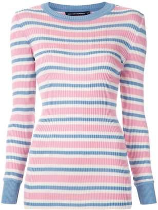 Reinaldo Lourenço striped knit blouse
