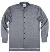 Naked & Famous Denim Selvedge Bird's Eye Sportshirt