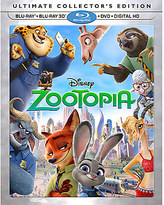 Disney Zootopia Ultimate Collector's Edition 3D Combo Pack