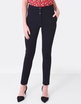 Forcast Mia Button Pants