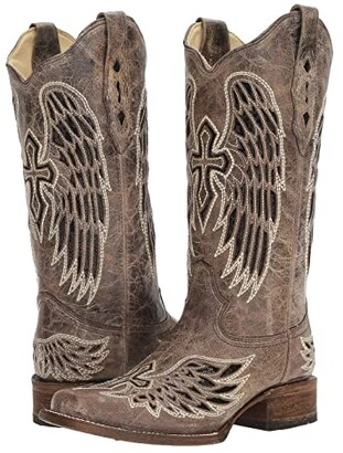 Corral Boots A1197 (Brown/Black) Women's Boots