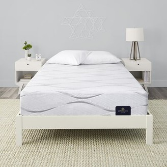 "Serta Perfect Sleeper 12"" Southpoint II Medium Foam Mattress and Box Spring Mattress Size: Twin, Box Spring Height: Standard Profile (9"")"