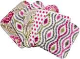Trend Lab Waverly Jazzberry Bouquet 5 Piece Wash Cloth Set