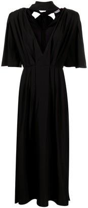 Magda Butrym V-neck midi dress