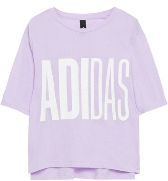 adidas Printed Stretch-jersey T-shirt