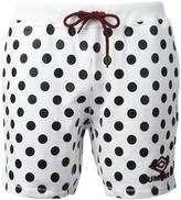 House of Holland x Umbro polka dot shorts - unisex - Cotton - M