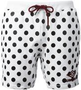 House of Holland x Umbro polka dot shorts