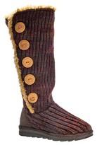 Muk Luks Women's Malena Crochet Button Up Boots