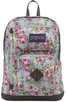 JanSport Austin Backpack in Multi Concrete Floral