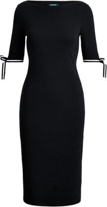 Ralph Lauren Cotton Boatneck Dress