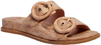 Kate Spade Rhodes Cork Buckle Slide Sandals