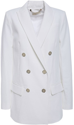MICHAEL Michael Kors Double-breasted Pique Blazer