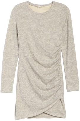 Dee Elly Long Sleeve Shirred Knit Dress