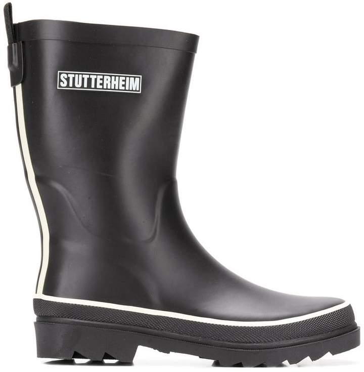 Stutterheim ridged sole boots