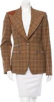 Michael Kors Wool Patterned Jacket