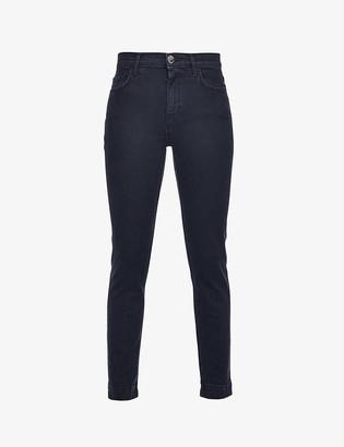Pinko Sabrina skinny mid-rise stretch-denim jeans