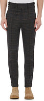 Neil Barrett Men's Glen Plaid Trousers-DARK GREY