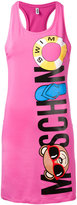 Moschino swim bear beach dress - women - Cotton/Spandex/Elastane - XS